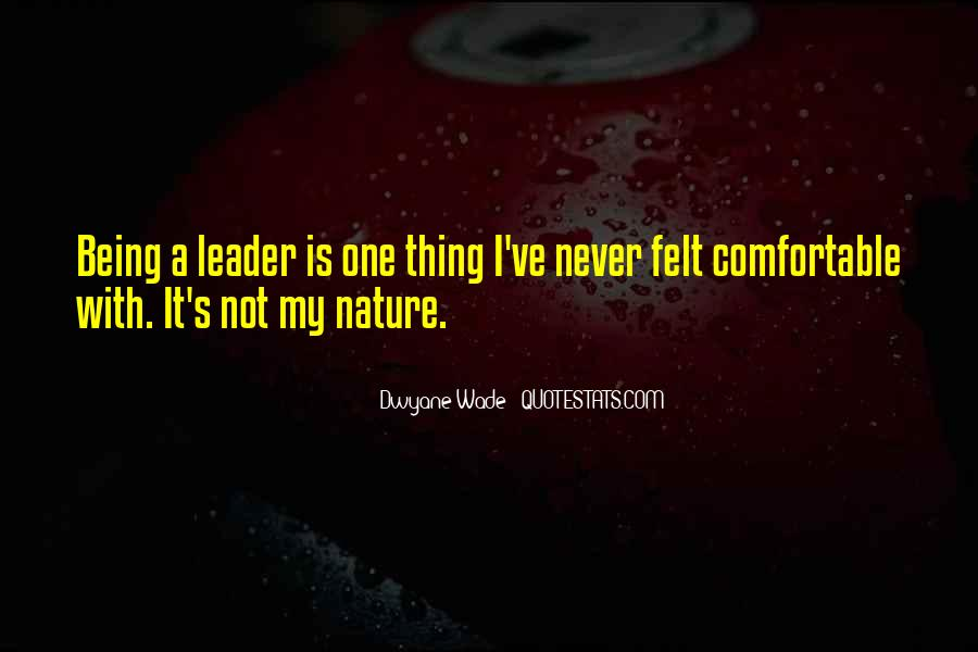 Being The Best Leader Quotes #317998