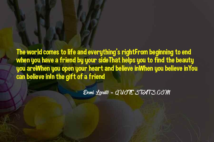 Believe In Your Heart Quotes #1255763