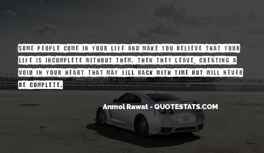 Believe In Your Heart Quotes #302622