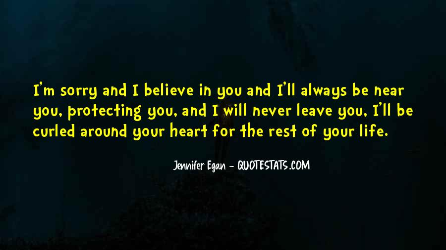 Believe In Your Heart Quotes #715623