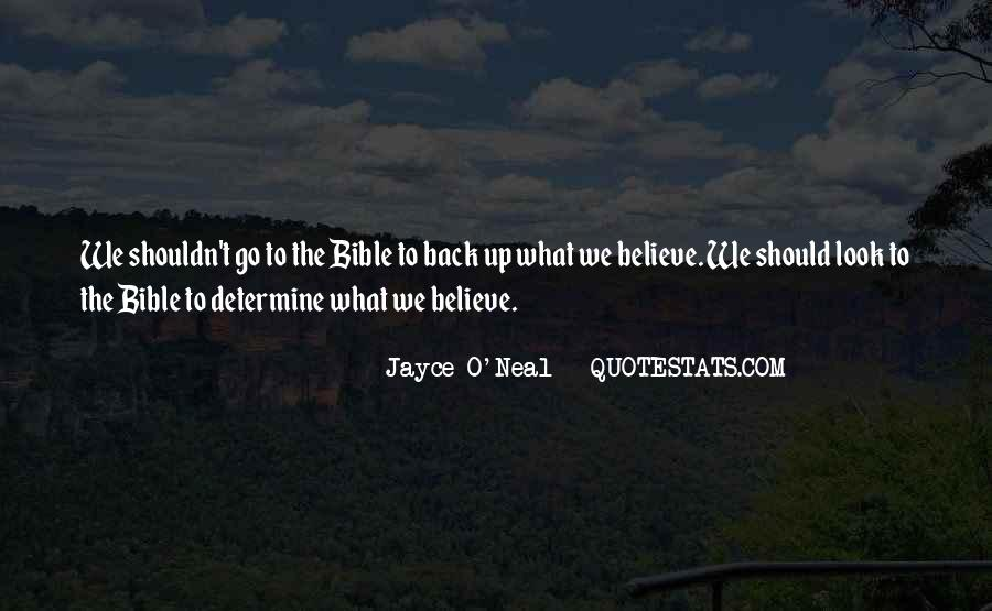 Believe In Yourself Bible Quotes #220645