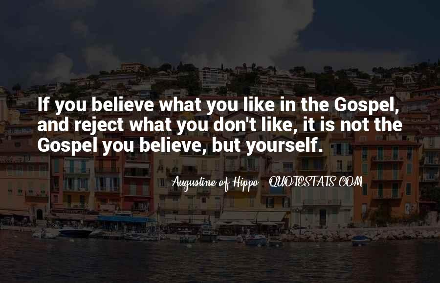 Believe In Yourself Bible Quotes #79005