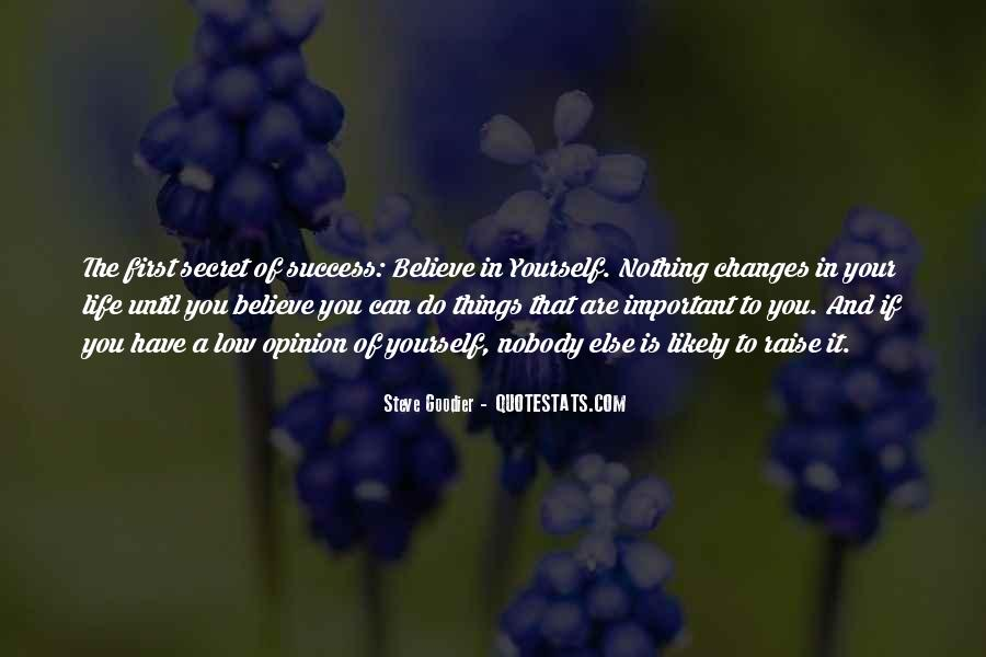 Believe In Yourself Love Quotes #1140427