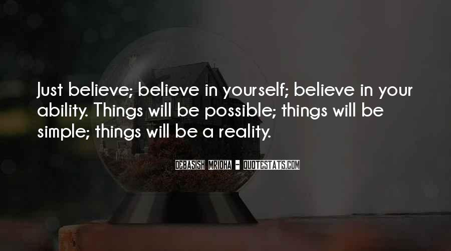 Believe In Yourself Love Quotes #1304533
