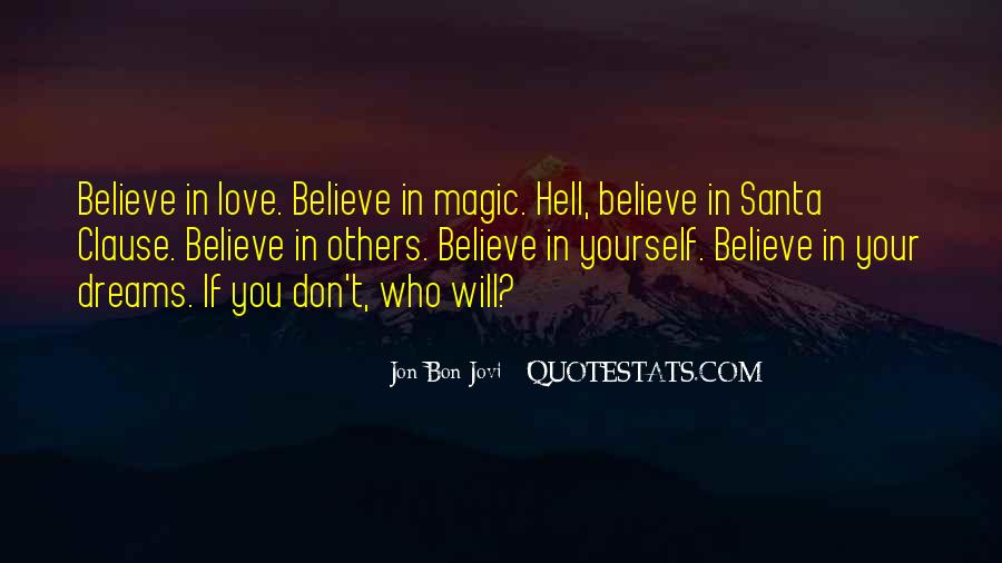 Believe In Yourself Love Quotes #1508084