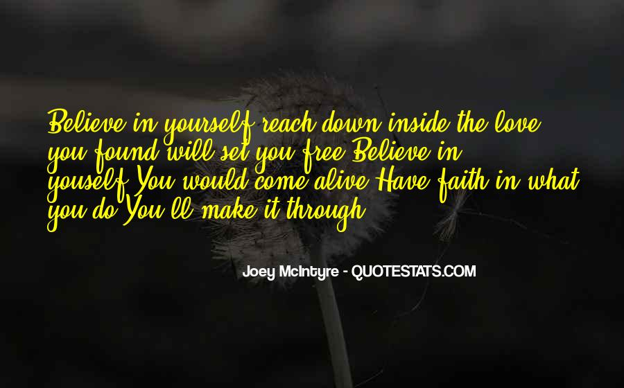 Believe In Yourself Love Quotes #1773486