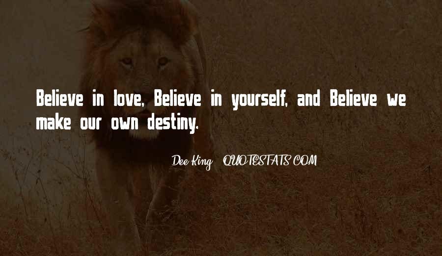 Believe In Yourself Love Quotes #1827377