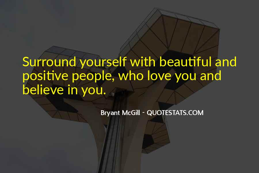 Believe In Yourself Love Quotes #1843818