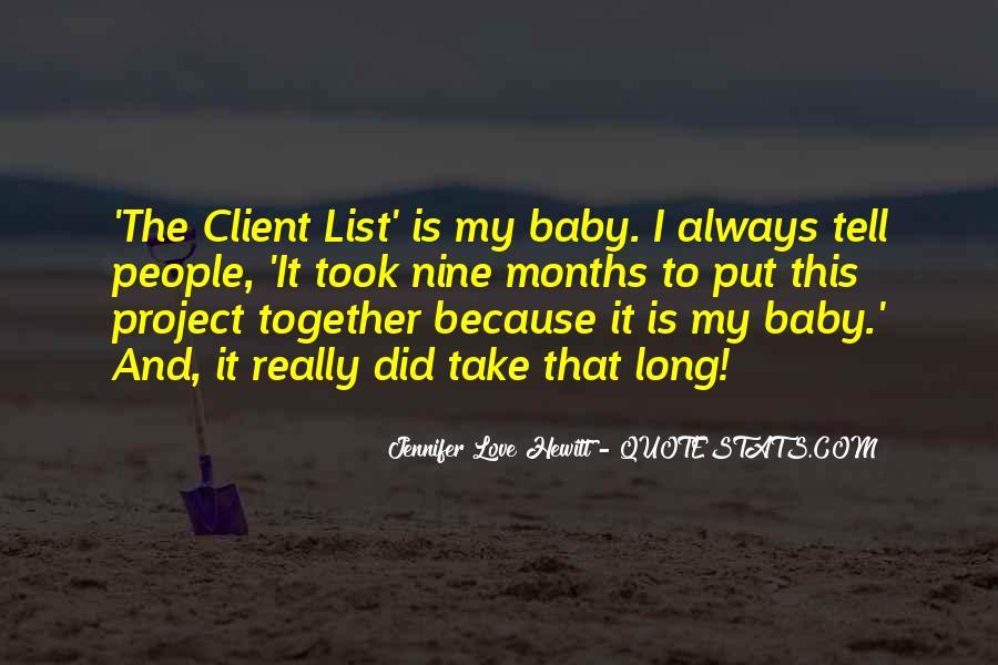 Believe Me Baby Quotes #10646