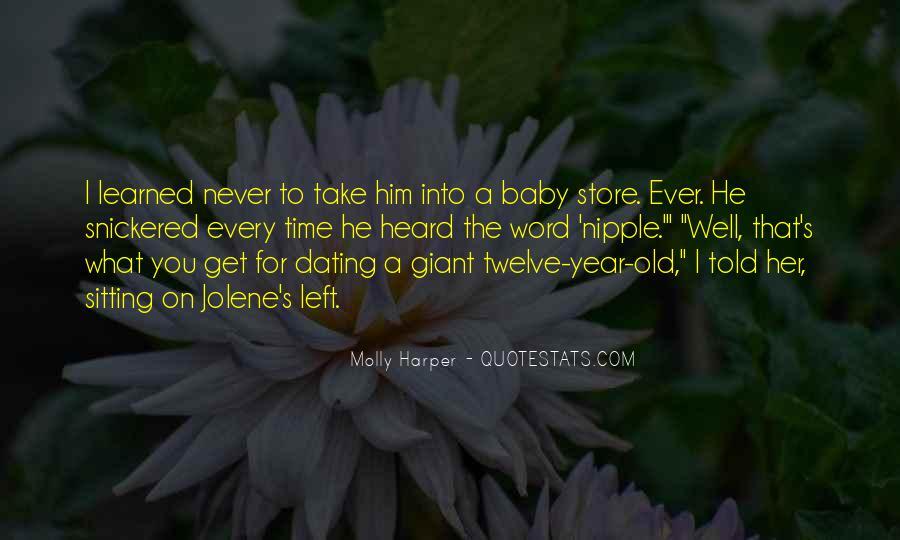 Believe Me Baby Quotes #20244