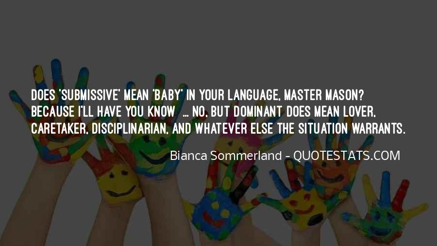 Believe Me Baby Quotes #2131