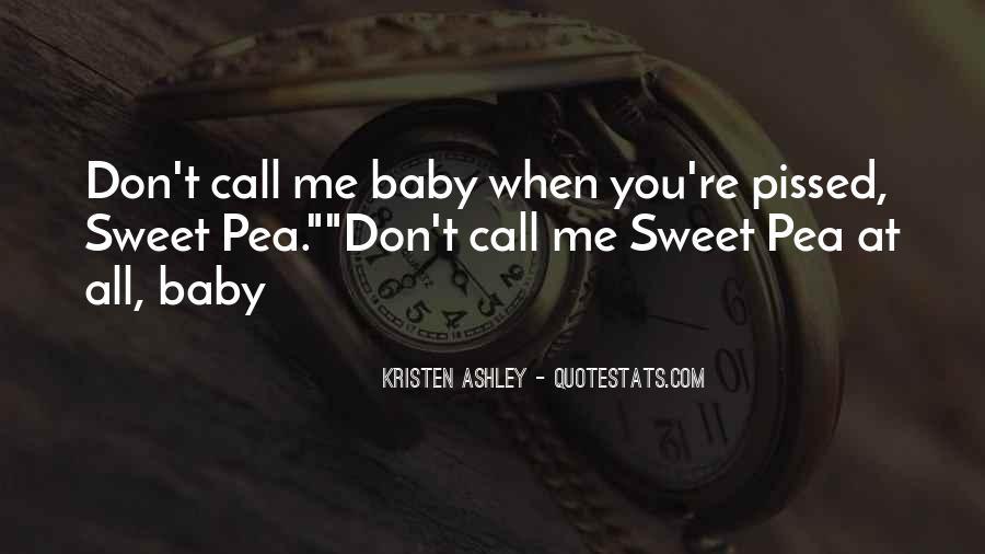 Believe Me Baby Quotes #26903