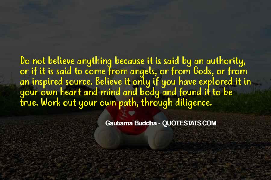 Believe Nothing Buddha Quotes #433184