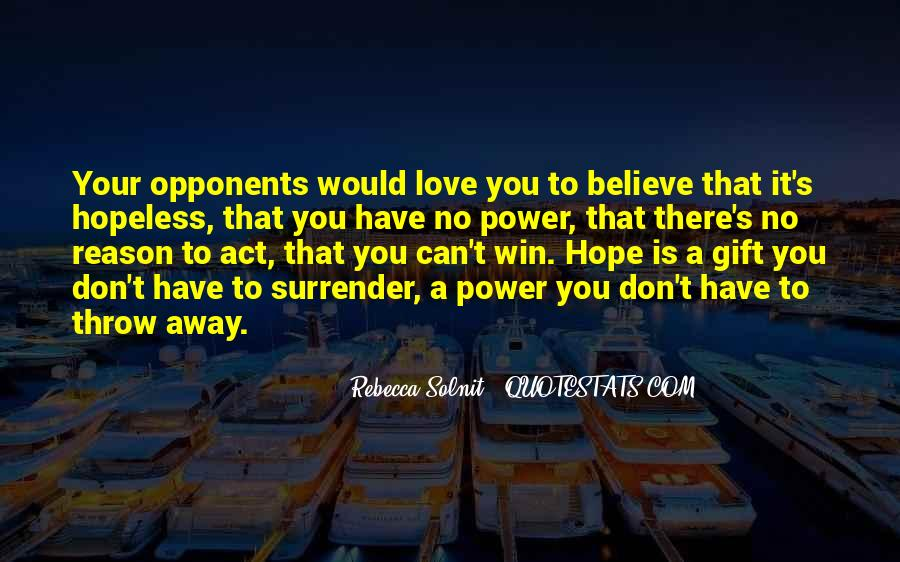 Believe You Can Win Quotes #1011696