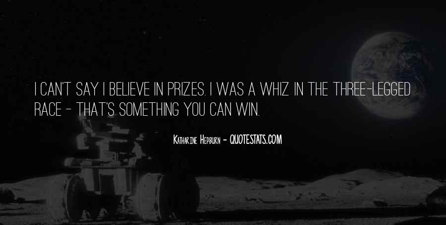 Believe You Can Win Quotes #1611975
