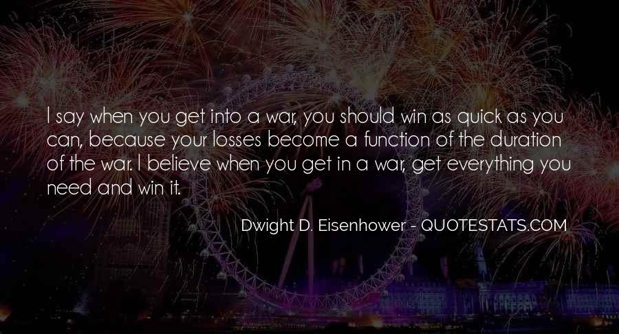 Believe You Can Win Quotes #1794791