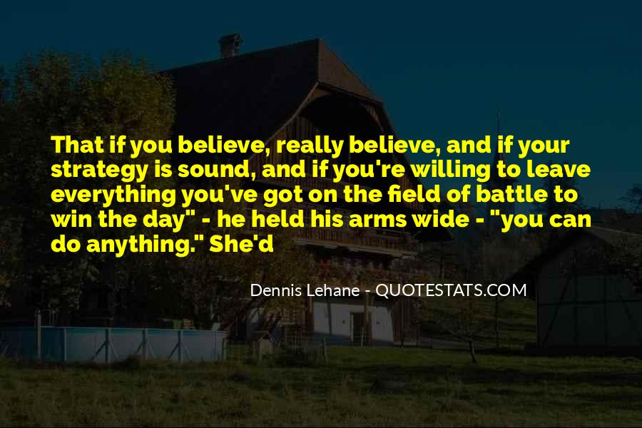 Believe You Can Win Quotes #657194