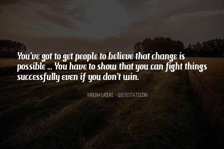 Believe You Can Win Quotes #843253