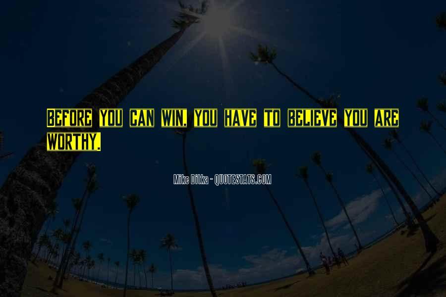 Believe You Can Win Quotes #948992