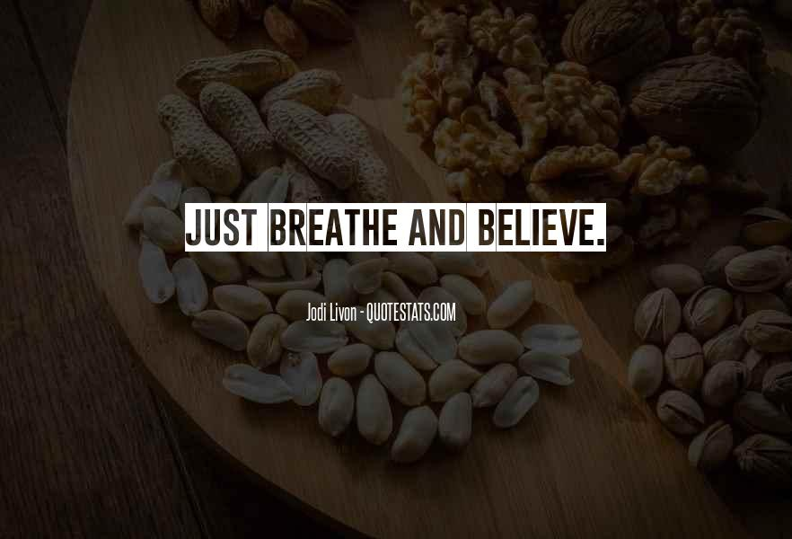 Believe Your Intuition Quotes #1876088