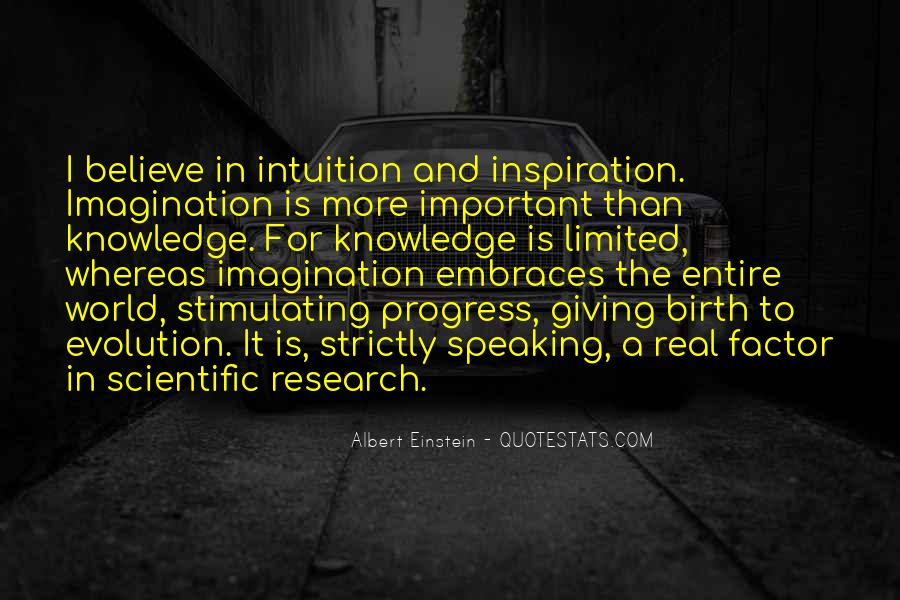 Believe Your Intuition Quotes #677419