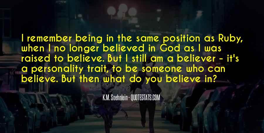 Believer Quotes #47281