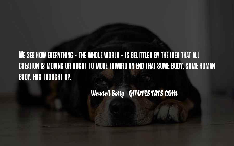 Belittled Quotes #1427808