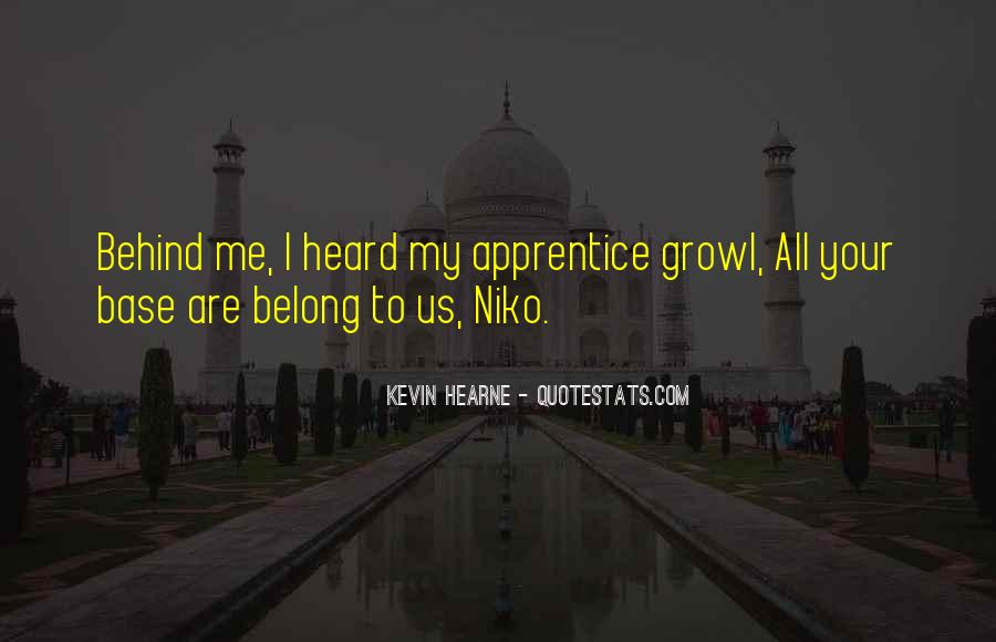 Belong To Me Quotes #204514