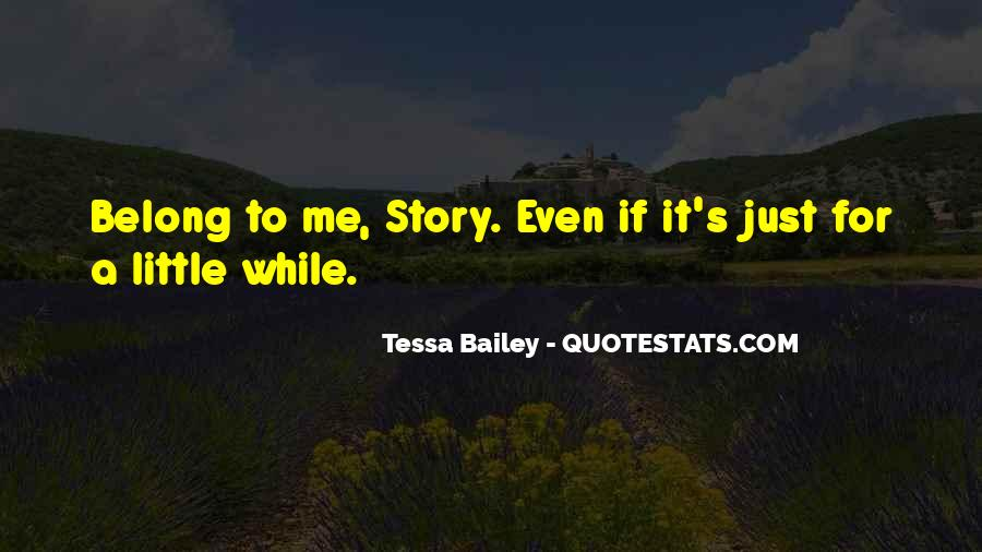 Belong To Me Quotes #428746