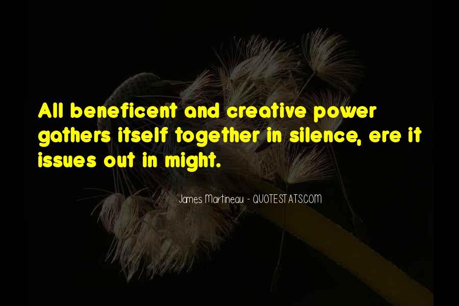 Beneficent Quotes #1037980