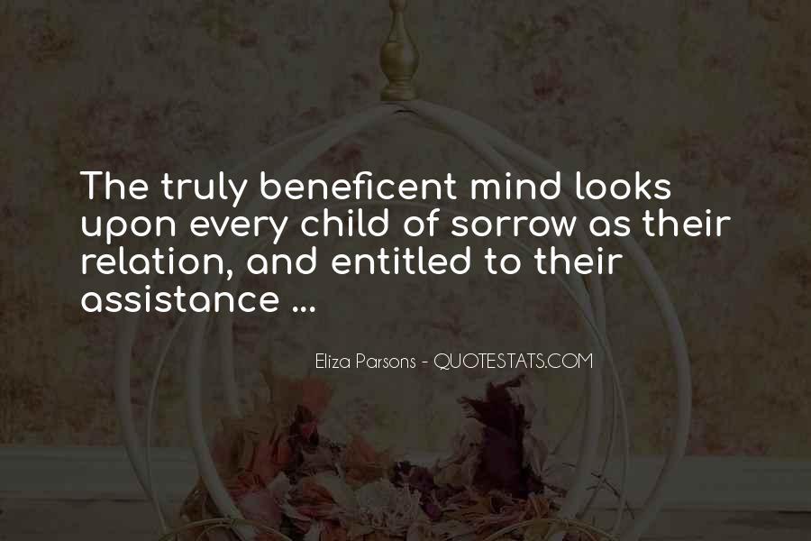 Beneficent Quotes #1292345