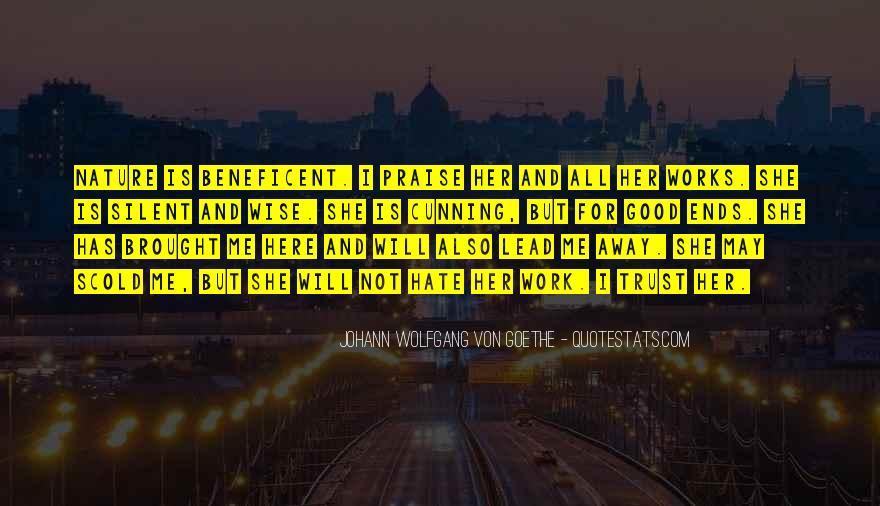 Beneficent Quotes #1381134