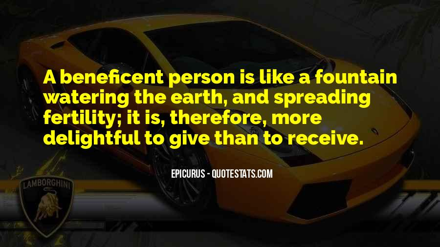 Beneficent Quotes #1413934
