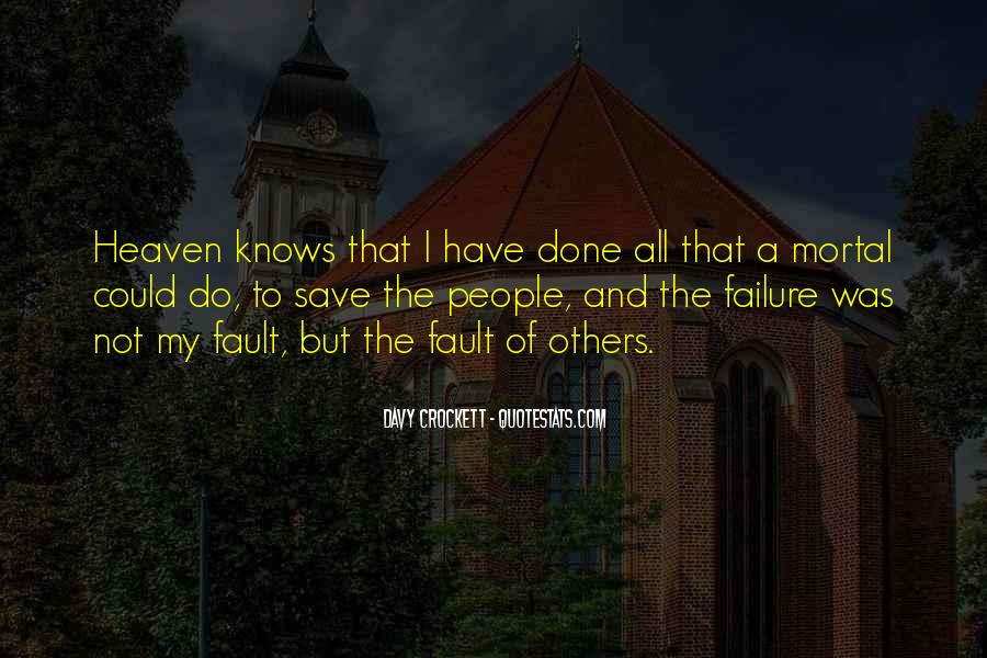 Benefit Of The Doubt Famous Quotes #1401337