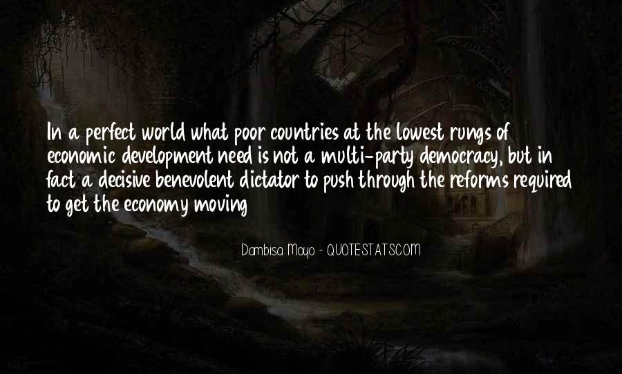 Benevolent Dictator Quotes #1617813