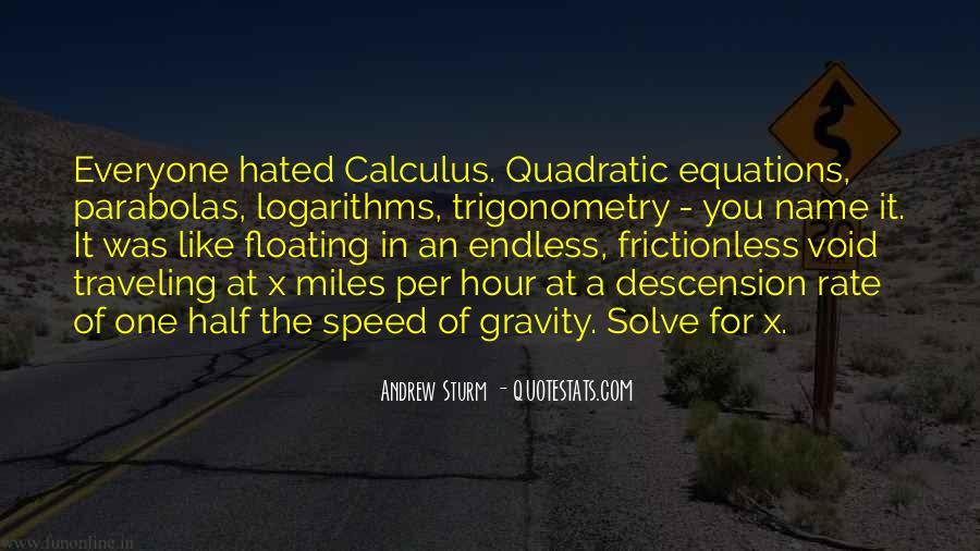 Quotes About Math Trigonometry #1324152