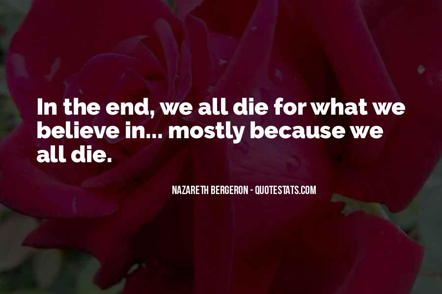 Bergeron Quotes #1543803
