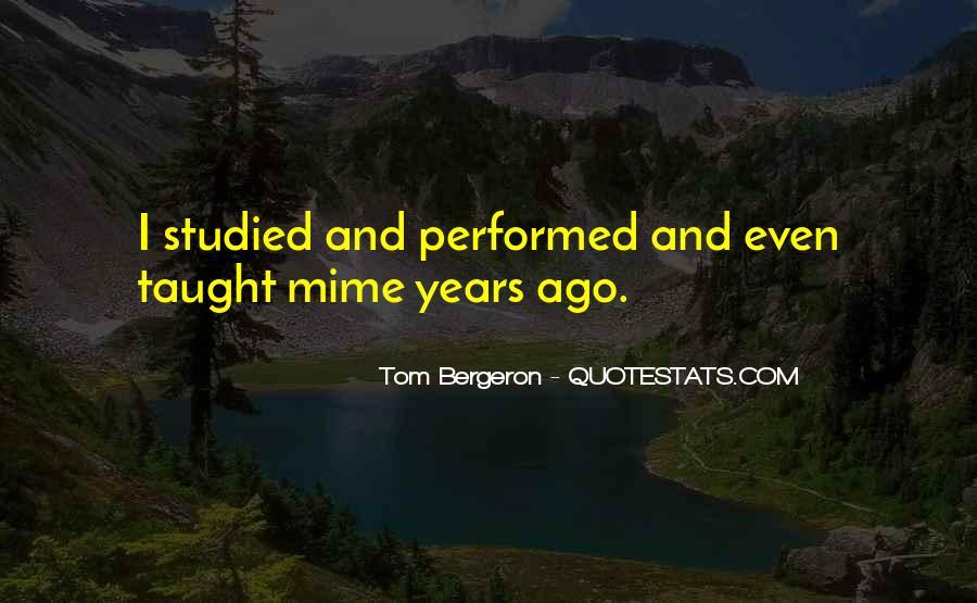 Bergeron Quotes #156516