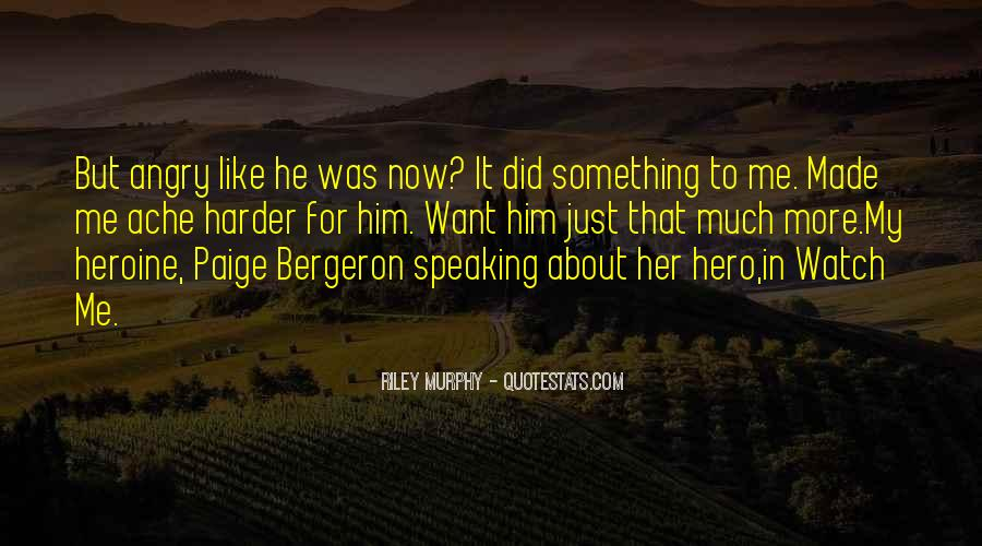 Bergeron Quotes #230678
