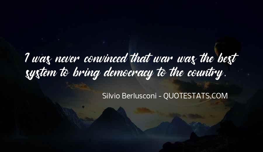 Berlusconi Best Quotes #1582251