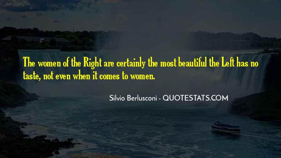 Berlusconi Best Quotes #25494