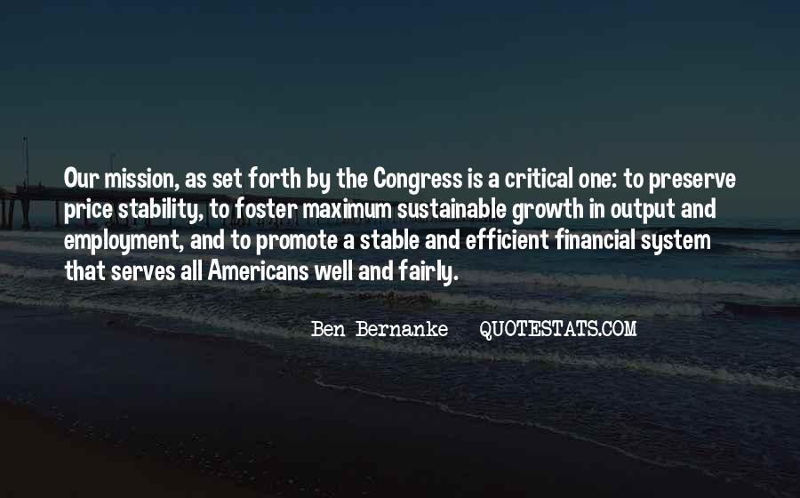 Bernanke Quotes #120198