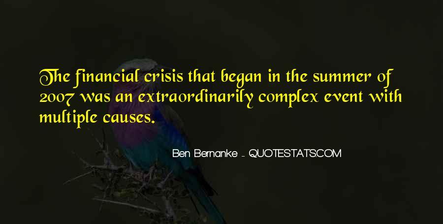 Bernanke Quotes #138249