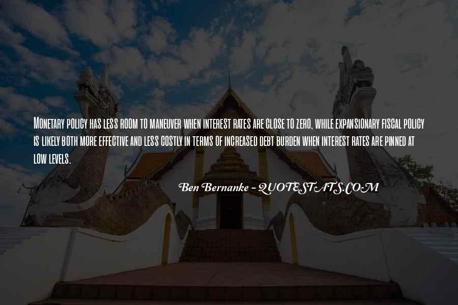 Bernanke Quotes #150912