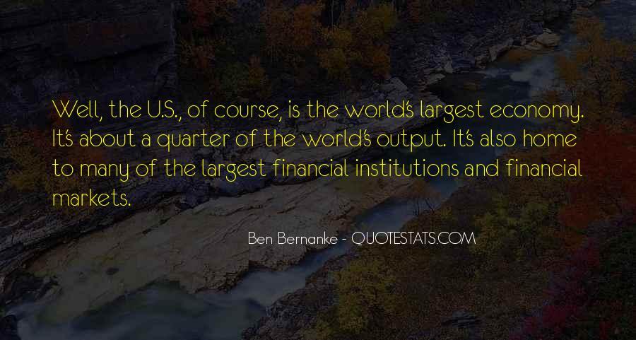 Bernanke Quotes #181151