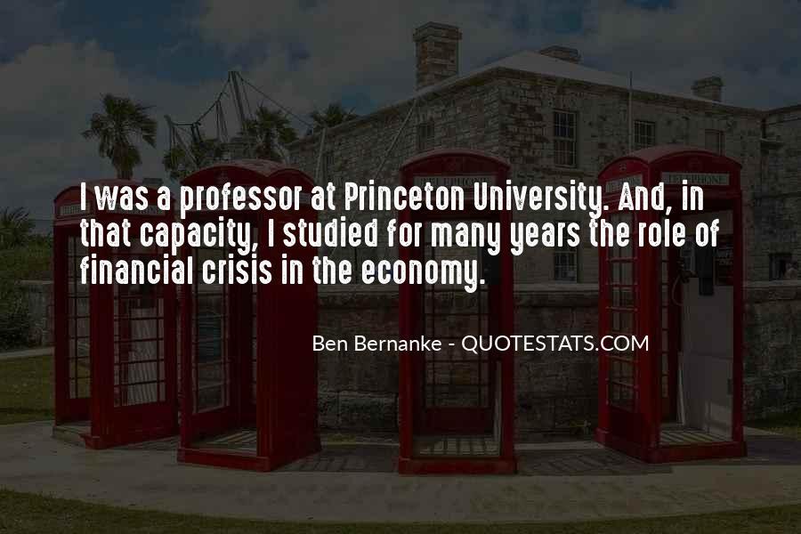 Bernanke Quotes #195690