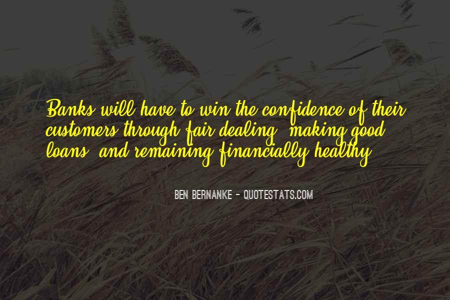 Bernanke Quotes #249981