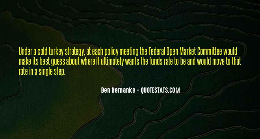 Bernanke Quotes #262555