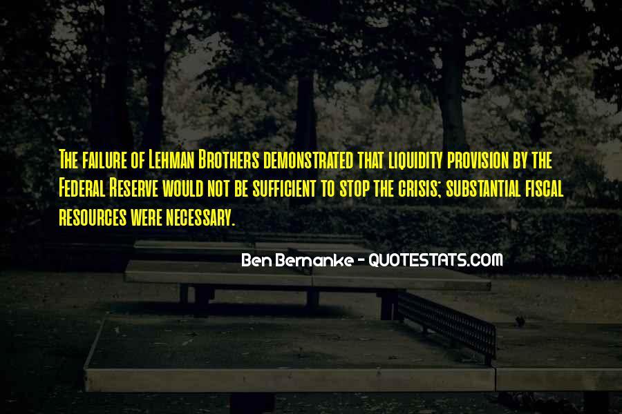 Bernanke Quotes #270313
