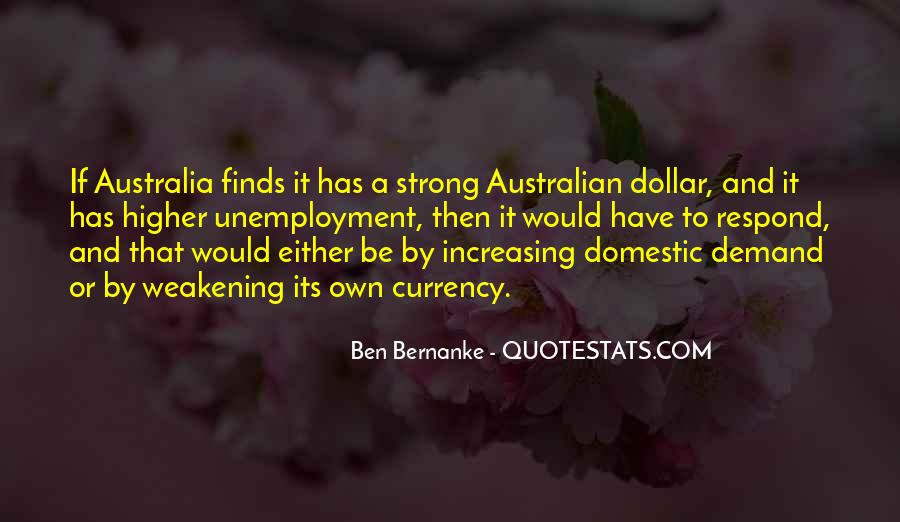 Bernanke Quotes #282471